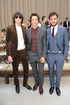 Burberry Prorsum SS2013 George Craig Rob Pryor and Roo Panes