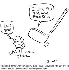 funny cartoon golf pictures - Google Search