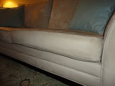 Clean your microfiber furniture.