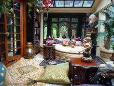 """""""The Lanterns"""" a bohemian garden room"""