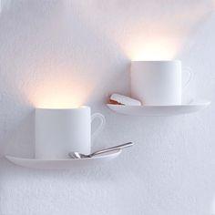 coffee cup lighting