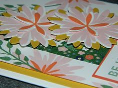 Flower Patch, Stampin' UP!, Card Making, Hand made cards, Flower Flair