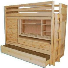 wooden chairs, bedroom idea, woodworking projects, lofts, loft bed