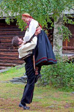Dancers from Øst-Telemark, Norway.
