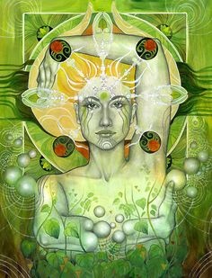 Earth byPatricia Ariel #visionaryart #art #beautiful #visual #trippy #psychedelic #sacred