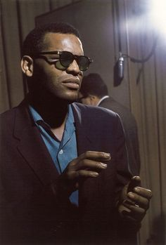 Ray Charles photographed by Lee Friedlander, 1959.