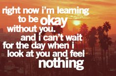 feel noth