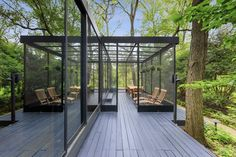 Photo 14 of 15 in A Blackened Steel and Glass House Outside of Chicago Hits the Market for $825K - Dwell