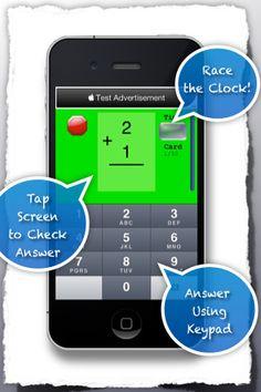 FREE Math Flash card app
