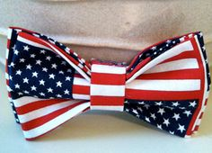 Dog Bow Tie American Flag by KikiCouture207 on Etsy, $5.00