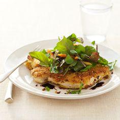 Crispy Balsamic Chicken #vegetables #protein #grains #myplate
