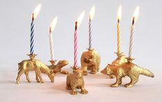 DIY Party Animal Birthday Candles