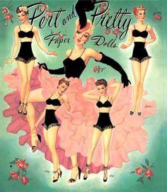 pin up paper dolls...@Lady Lady