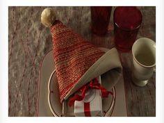 Video: Fold a Santa Hat Napkin holiday napkin, fold tutori, napkins, fold napkin, 10 christma, napkin folding, santa hat, the holiday, christma napkin