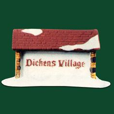 """Dickens' Village Sign"""