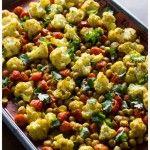 Roasted Cauliflower,