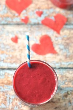 Ruby Red Smoothie by atasteofzest #Smoothie #Red #Healthy