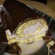 Oopsie roll cake