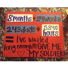 the poster i made for his military homecoming!!! been too long i cant wait to see my boyfriend!!!!!