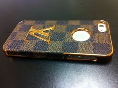 Luxury Designer Case Cover Lv Brown Checkered Iphone 5 by ocsewlf, http://www.amazon.com/dp/B009L2T3CE/ref=cm_sw_r_pi_dp_TQxNrb0T4APC6