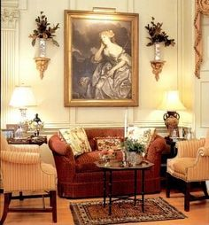 Beautiful Homes and Interiors: Interior Design of Georgian Home by Charles Faudree