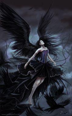Gothic Fall Fairy