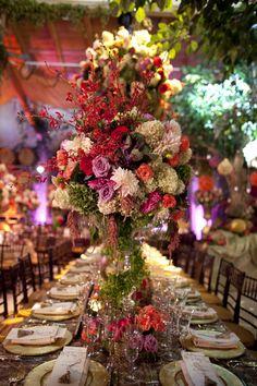 David Tutera Weddings - Tall Centerpieces | Wedding Planning, Ideas & Etiquette | Bridal Guide Magazine