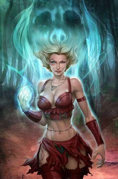 Artgerm - Salem's Daughter 1