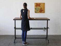 #standingdesk Ohio Design Adler Table $1925 Standing Desk HERE: http://ohiodesign.com/product/adler-table/