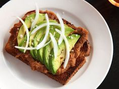 Toast With Refried Beans and Avocado (Vegan) J. Kenji López-Alt Mar 1, 2013 --- Breakfast