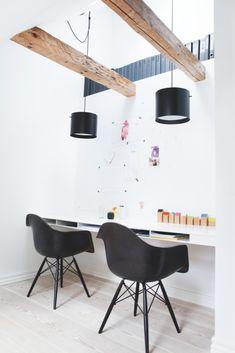 The bright home of architect and designer Anne Boysen Lorenzen 1