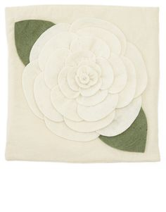 White Rose Pillow Case