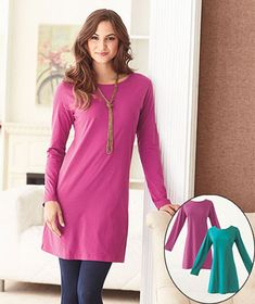 Women's Sets of 2 Knit Dresses #LakesideCollection