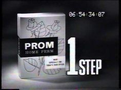 Prom Home Perm 1962 TV commercial