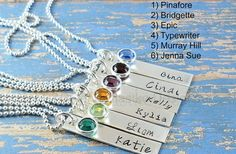 GroopDealz | Hand Stamped Sterling Silver Necklace