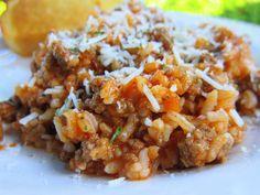 Spaghetti Rice
