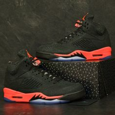 air jordan retro V infrared