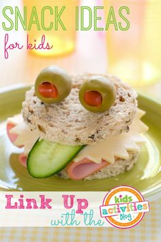 Snack Ideas For Kids ~ Add Yours - Kids Activities Blog