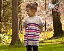Ravelry: The Lily Tunic (girls) pattern by KT and the Squid