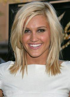 Cute Medium Length Hairstyle: Medium Straight Hair