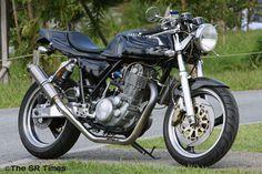 Yamaha SR 400 by Cascada-Moto Design