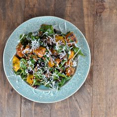 Roasted Squash Salad with Toasted Sorghum @Cara K K K's Cravings