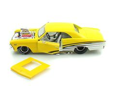 1966 Chevy Chevelle 396 Pro Street 1/24 Yellow