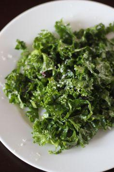 Raw Kale Salad with Lemon, Pecorino, and Currants Recipe - Saveur.com