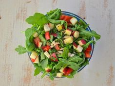 Arugula Salad with A