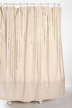 sequin stripe shower curtain...urban outfitters $40