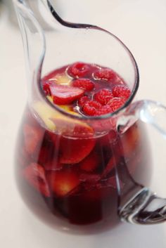 beach house in the city: sangria....yes please!