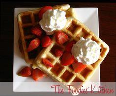 Condensed Milk Waffles by The Foodies' Kitchen, via Flickr