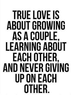 Yes. It's about seeing that person in their darkest time yet still choosing to love them. That is love. No relationship is perfect. There will be fights and dark times. But when you truly love someone you work through it.