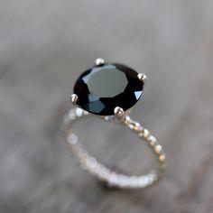 Black diamond...right hand ring ;)